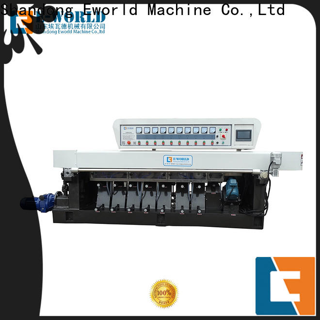 Eworld Machine technological glass corner polishing machine supplier for industrial production