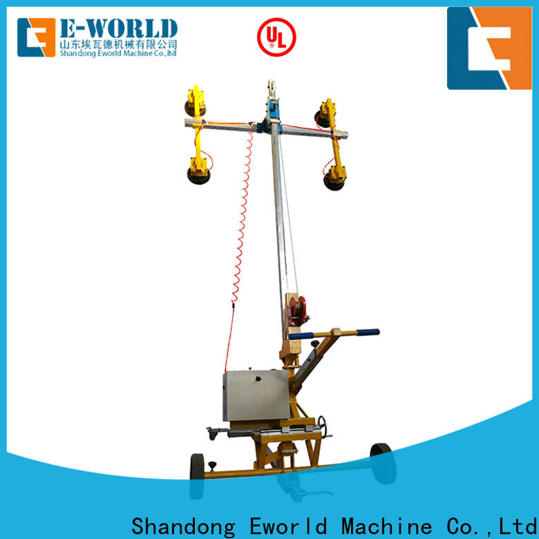 Eworld Machine vacuum dual cup suction lifter for distributor