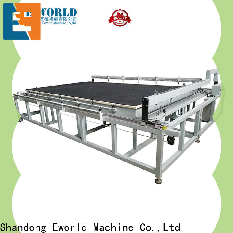 Eworld Machine round semi automatic glass cutting machine exquisite craftsmanship for industry