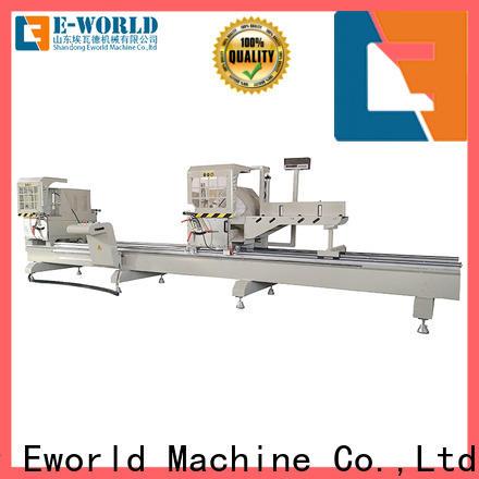 Eworld Machine cutting aluminium window crimping machine manufacturer for manufacturing