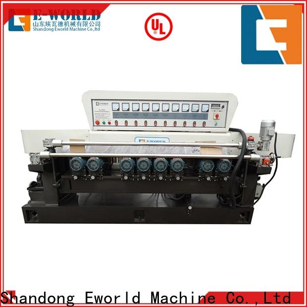 Eworld Machine edge glass edging machine for sale supplier for global market