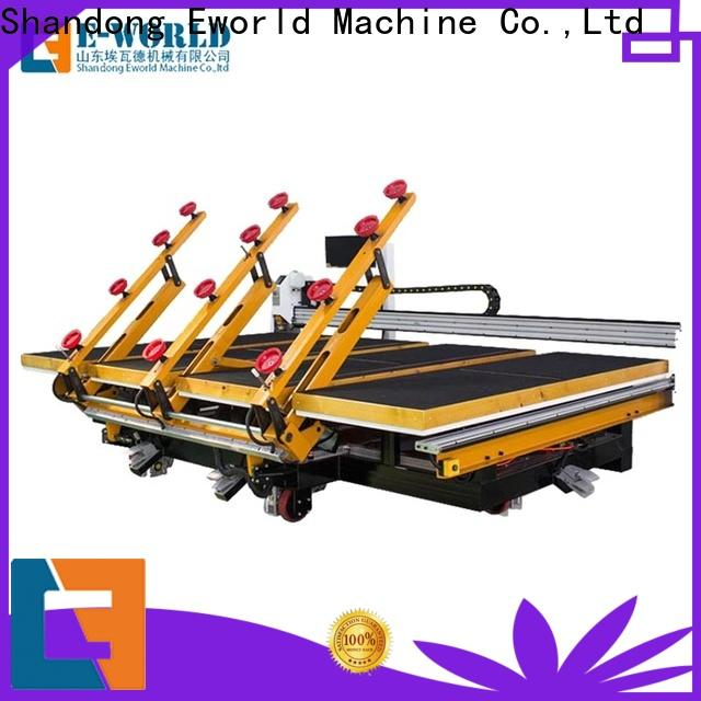 Eworld Machine automatic table glass cutting foreign trader for machine