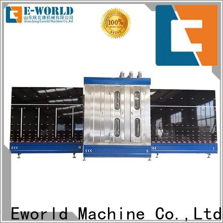 Eworld Machine trade assurance vertical glass washing machine supplier for distributor