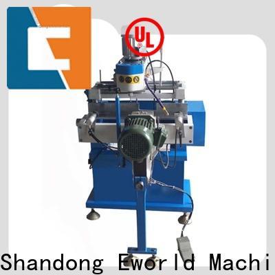 Eworld Machine quality single head upvc welding machine order now for manufacturing