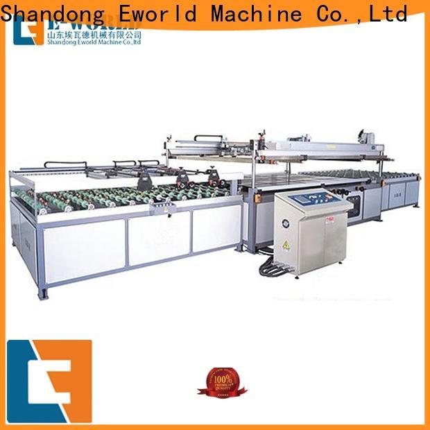 Eworld Machine screen non woven fabric screen printing machine trader for manufacturing