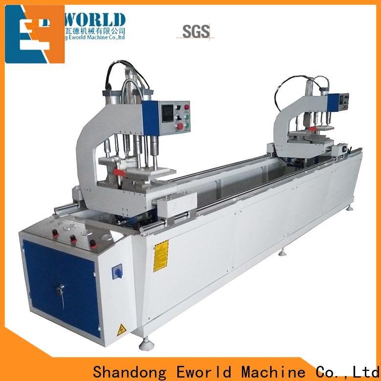 Eworld Machine latest pvc window welding machine order now for importer