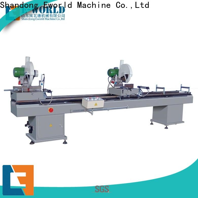 latest upvc window making machine price mullion supplier for manufacturing