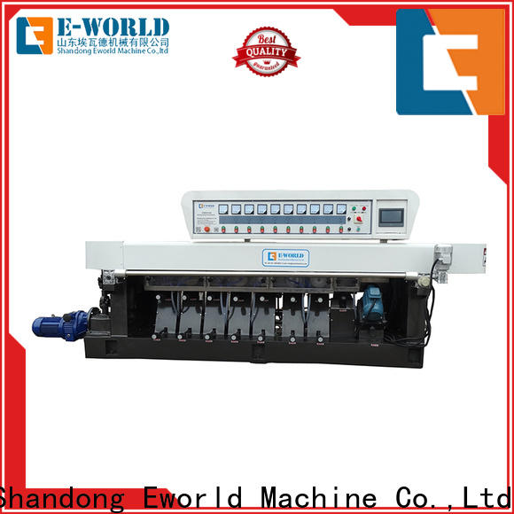 Eworld Machine trade assurance small glass beveling machine manufacturer for manufacturing