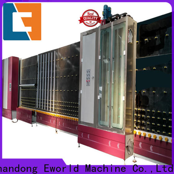 Eworld Machine vertical insulating glass machine for door factory for manufacturing