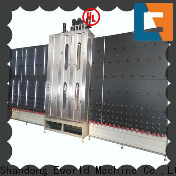 Eworld Machine technological vertical glass washing machine international trader for industry