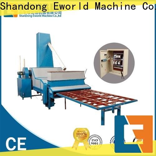 Eworld Machine competitive price automatic glass sandblasting machine from China for industry