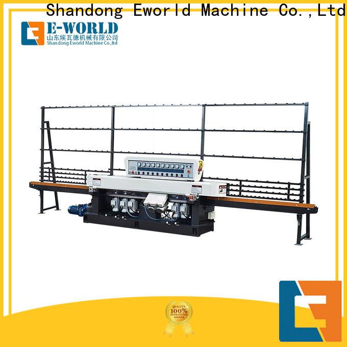 Eworld Machine multi glass edge polishing machine OEM/ODM services for manufacturing