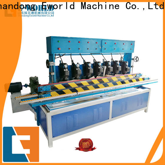 Eworld Machine edge glass polishing machine suppliers manufacturer for global market