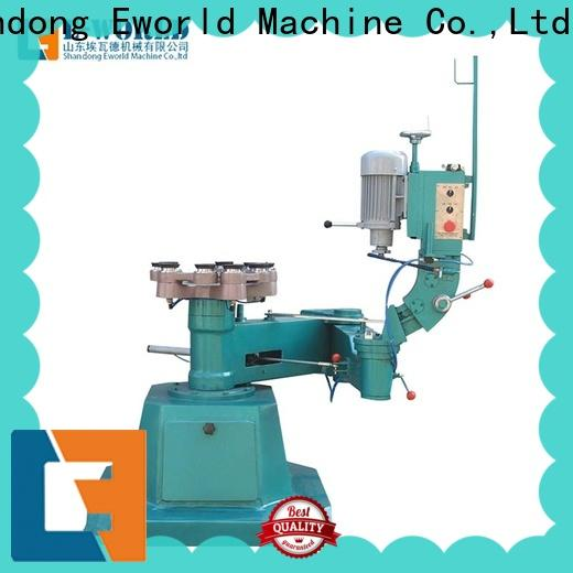 Eworld Machine technological glass edge processing machine manufacturer for industrial production