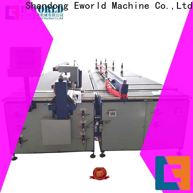 Eworld Machine industrial glass cutting equipment for sale dedicated service for industry