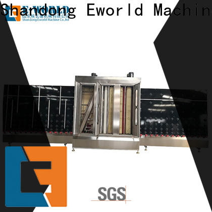 Eworld Machine glass glass washing and drying machine combo supplier for industry