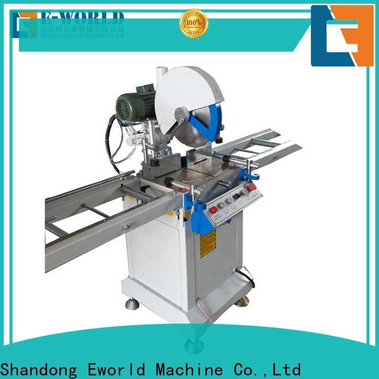Eworld Machine customized upvc window machine price factory for industrial production