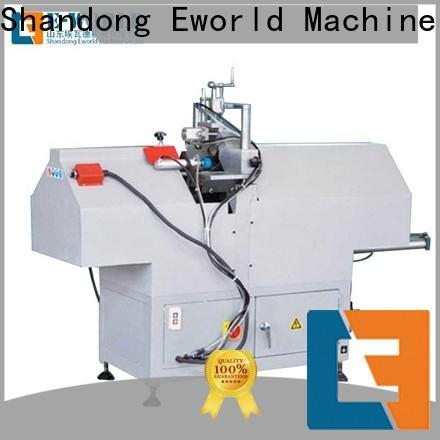 Eworld Machine cutting pvc door window machine order now for importer
