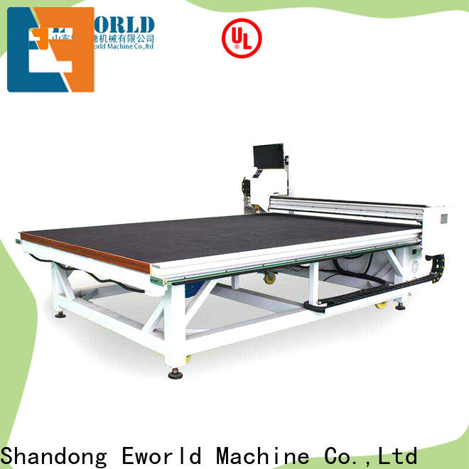 Eworld Machine reasonable structure glass cutting breaking machine dedicated service for sale