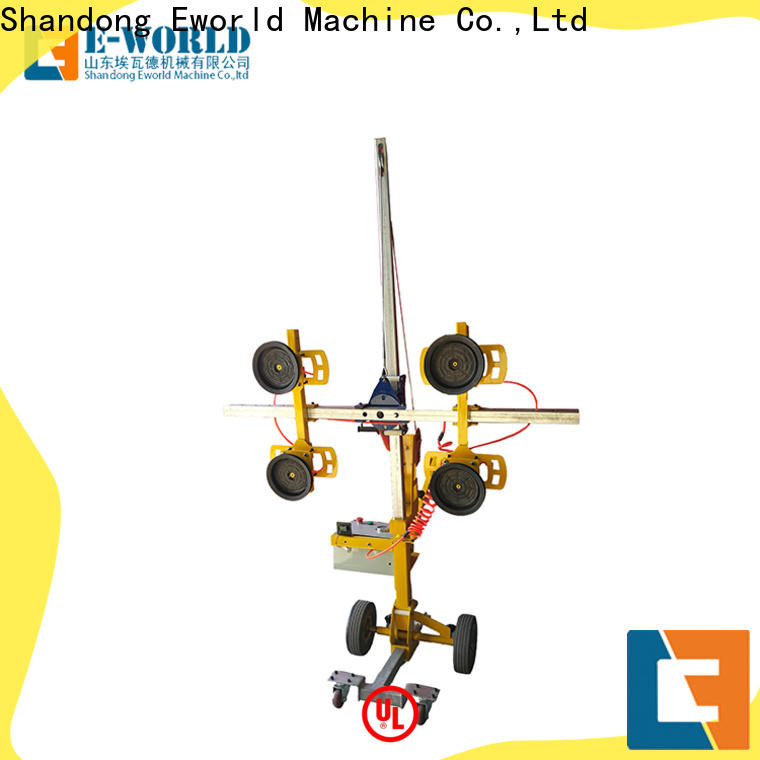 Eworld Machine handling portable glass lifter supplier for distributor