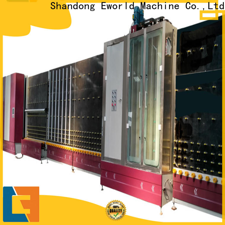 Eworld Machine low moq insulating glass machine provider for commercial industry