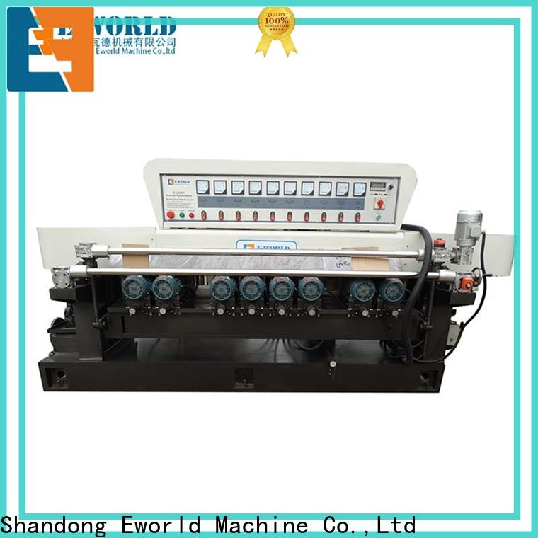 Eworld Machine size belt edge glass edging machine OEM/ODM services for global market