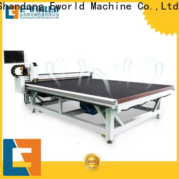Eworld Machine automatic glass cutting table manufacturers foreign trader for sale