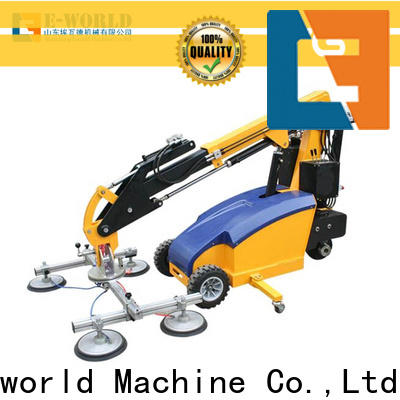 Eworld Machine transport portable glass lifter supplier for industry