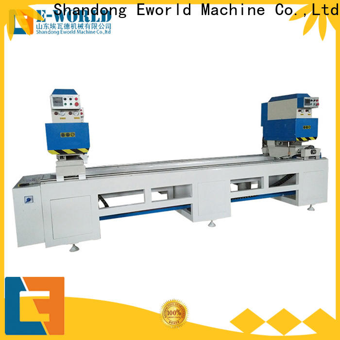 latest upvc window machine single factory for industrial production