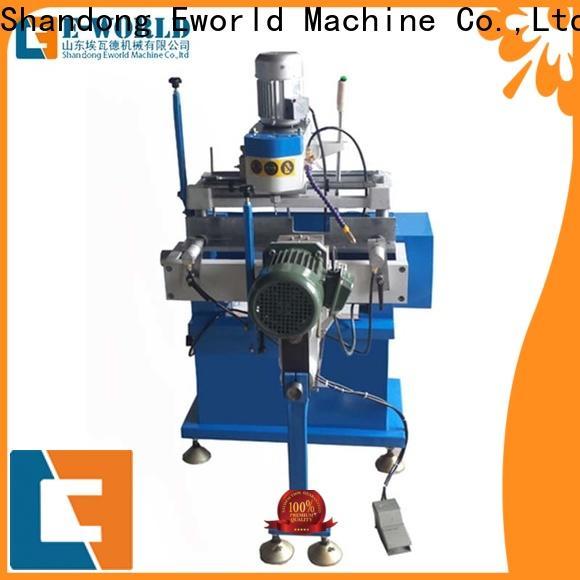 Eworld Machine window upvc welding machine china supplier for manufacturing