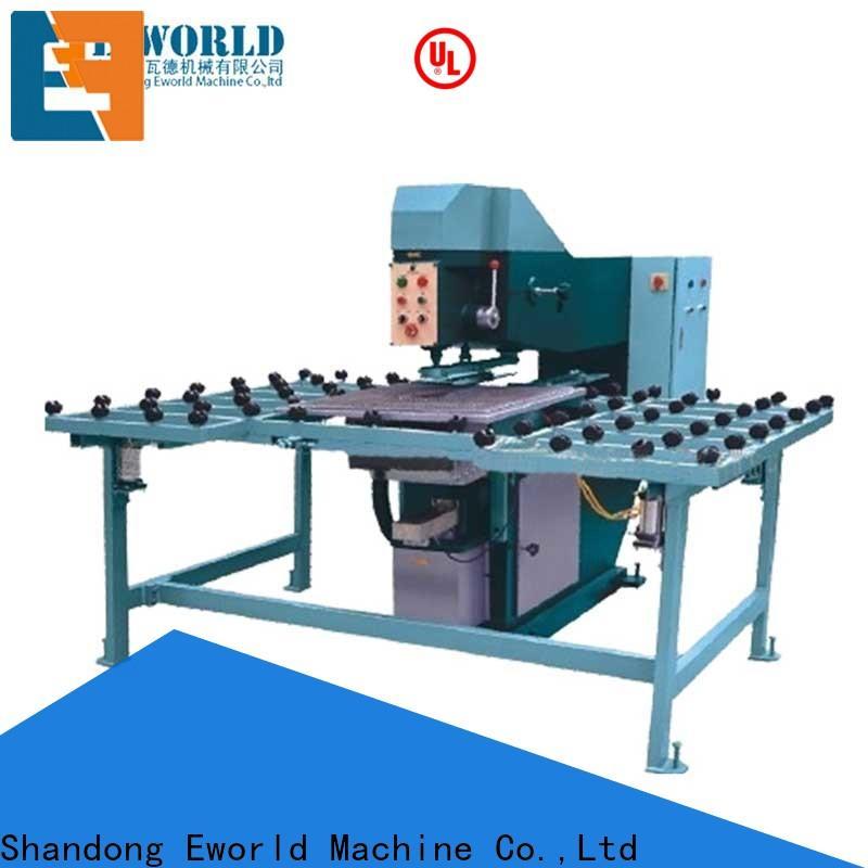 Eworld Machine unique design glass drilling machine with laser maker for distributor