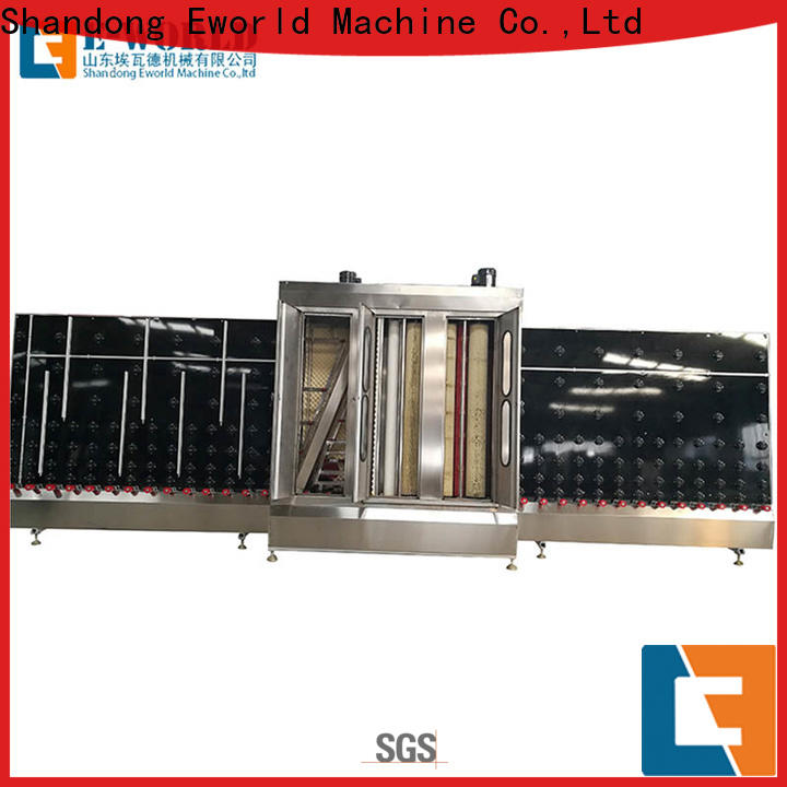 Eworld Machine inventive open top vertical glass washing machine factory for manufacturing