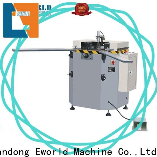 Eworld Machine aluminum aluminium window crimping machine OEM/ODM services for global market
