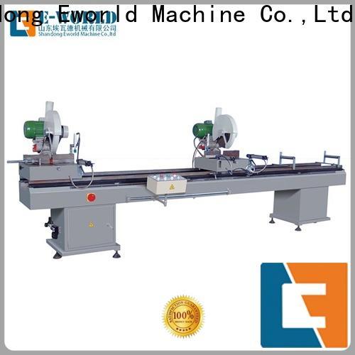 Eworld Machine profile portable upvc welding machine supplier for industrial production