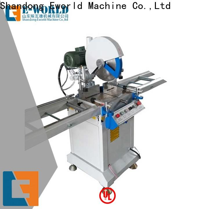 Eworld Machine quality upvc welding machine price supplier for industrial production