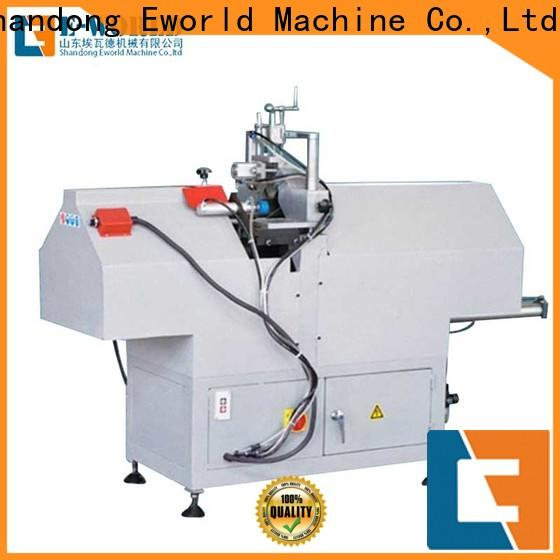 Eworld Machine customized upvc window manufacturing machines factory for manufacturing