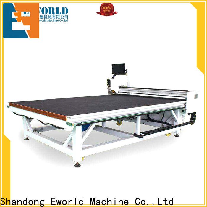reasonable structure cnc glass cutting table mirror foreign trader for industry
