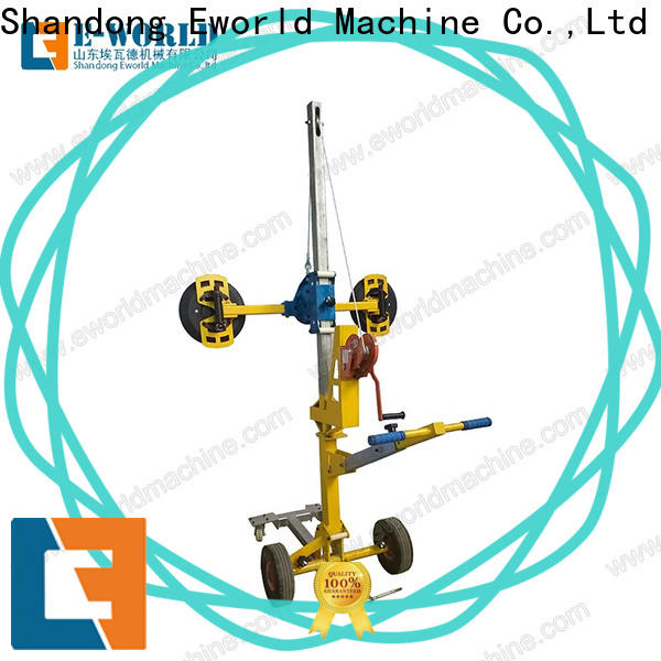 Eworld Machine electric suction cup glass lifter supplier for distributor