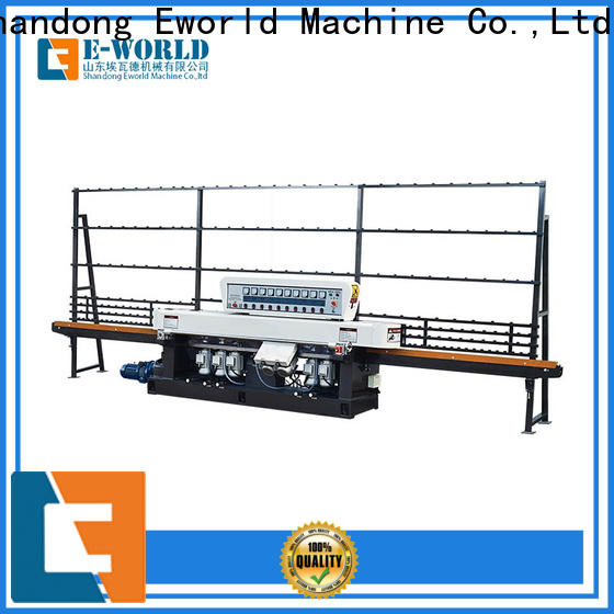 Eworld Machine beveling glass polishing machine suppliers manufacturer for industrial production