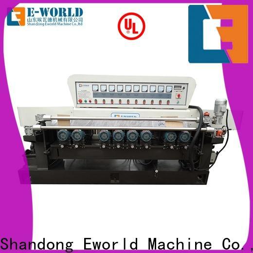 Eworld Machine trade assurance glass polish hand machine supplier for industrial production