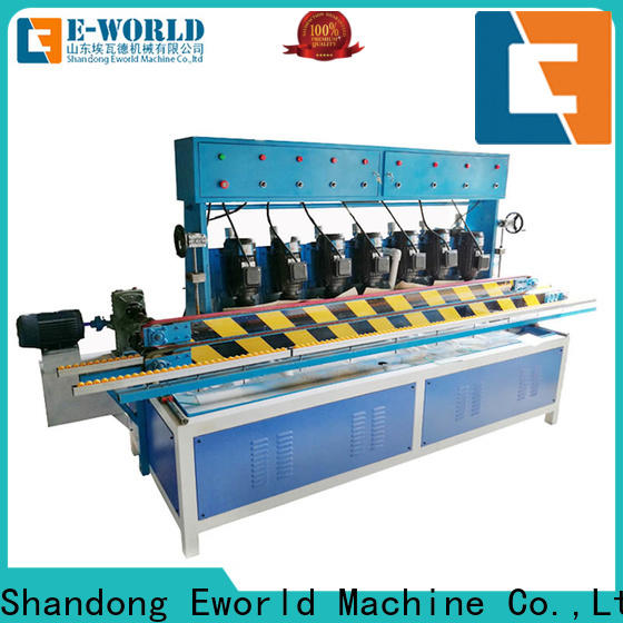 Eworld Machine trade assurance glass shape beveling machine supplier for industrial production