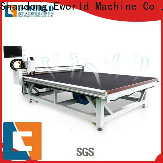 Eworld Machine high reliability shaped glass cutting machine foreign trader for industry