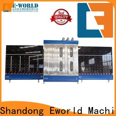 Eworld Machine automatic glass washer and dryer factory for manufacturing
