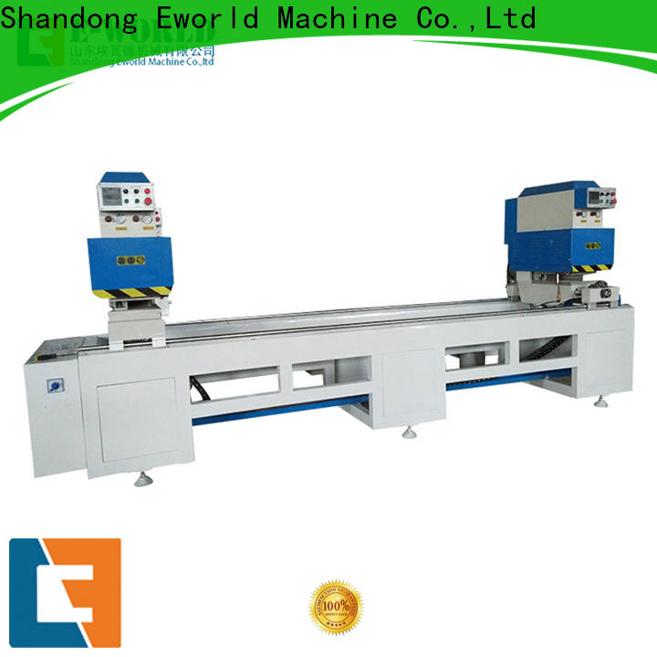 Eworld Machine new upvc window manufacturing equipment factory for industrial production