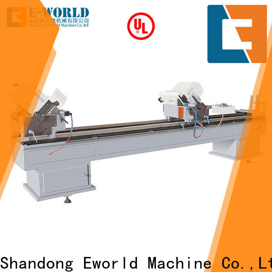 Eworld Machine window pvc window v notch cutting machine order now for manufacturing