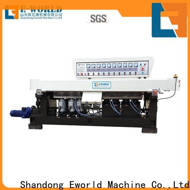 Eworld Machine multi irregular glass shape grinding machine OEM/ODM services for industrial production