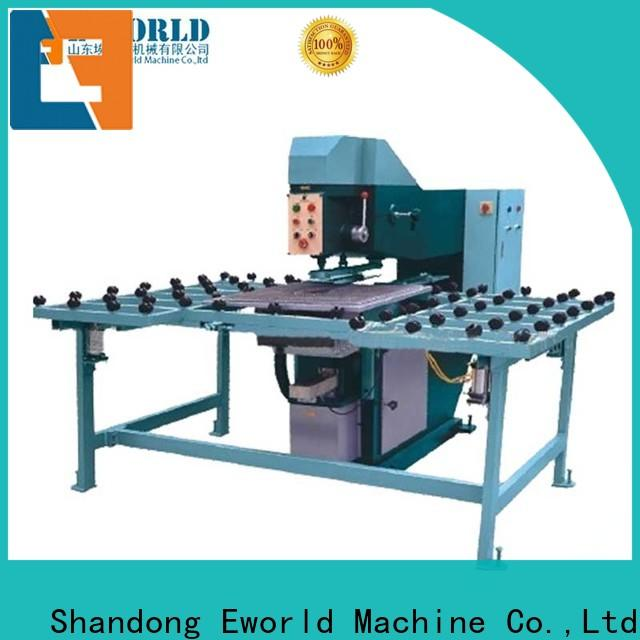 Eworld Machine unique design forvet glass drilling machine international trader for industry
