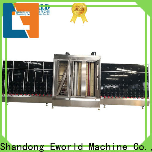 technological low-e glass washing machine washing supplier for industry