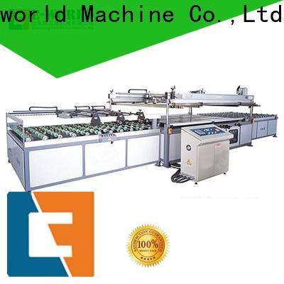 Eworld Machine trade assurance paper film screen printing machinery trader for manufacturing