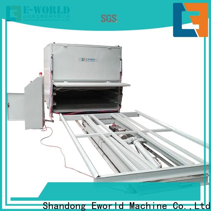 Eworld Machine low cost laminated glass furnace great deal for manufacturing